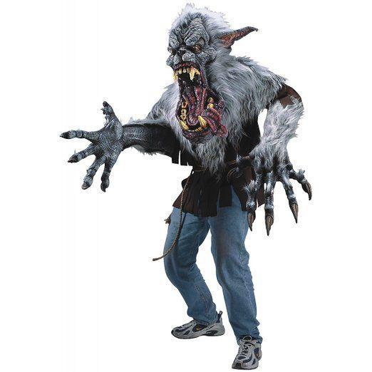 衣装 ホラー 怪物 モンスター 動物 コスプレ 真夜中に吠える怪物のコスチューム 大人用
