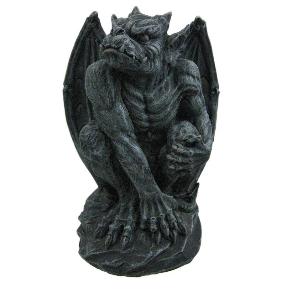 ハロウィンデコレーション 守護神 魔除け 翼のあるガーゴイル 彫像 置物 ガーデン インテリア 装飾 飾り グッズ|acomes