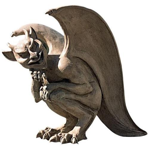 ハロウィンデコレーション 守護神 魔除け 伝説のケンブリッジの飛び回るガーゴイル 彫像 置物 ガーデン インテリア 装飾 飾り グッズ|acomes