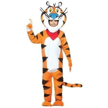 ケロッグ トニー・ザ・タイガー 子供用 コスチューム 着ぐるみ キャラクター コスプレ パーティー シリアル 朝食 トラ