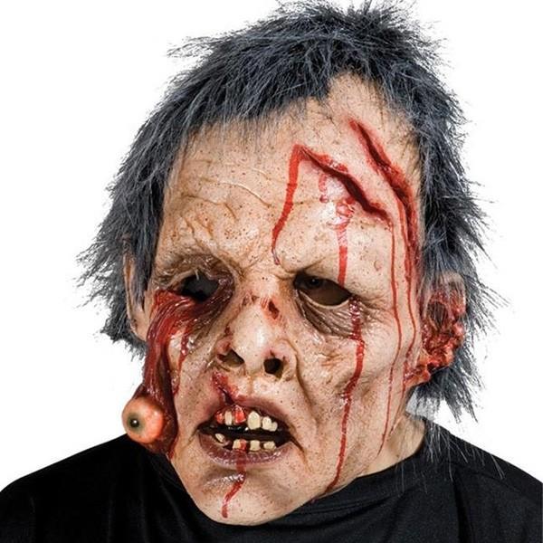マスク ハロウィン コスプレ グッズ 変装 仮装 恐怖 ホラー お化け ゾンビマスク 大人用