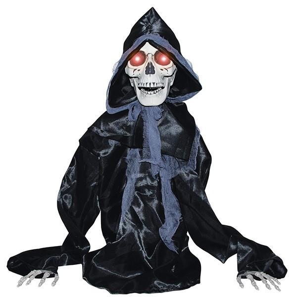 暗黒 死神 動く ハロウィン 装飾 デコレーション 骸骨 ガイコツ 不気味 怖い 狂気 お化け 屋敷