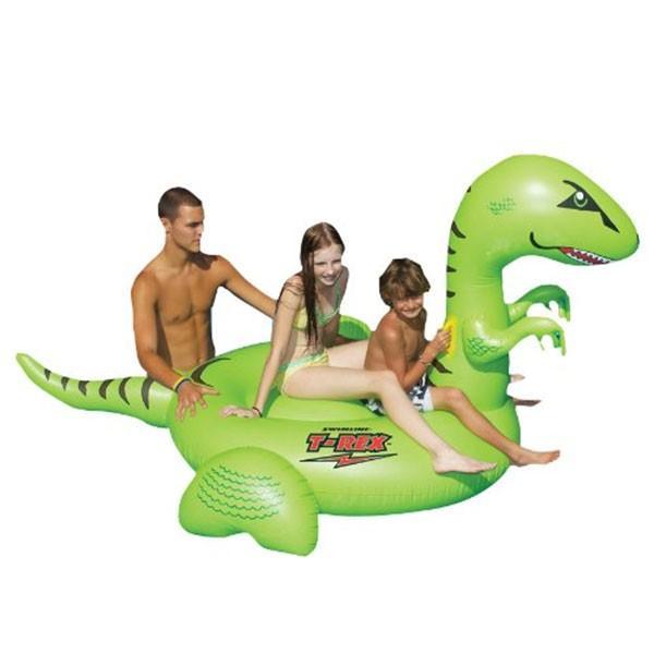 ティラノサウルス ジャイアント 浮き輪 水遊び プール 海水浴 ウォーターフロート 恐竜 インスタ