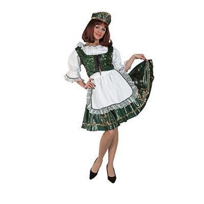 アイリッシュダンサー セントパトリックスデー 衣装 コスチューム コスプレ 服 大人 女性 スカート アイルランド 民族衣装
