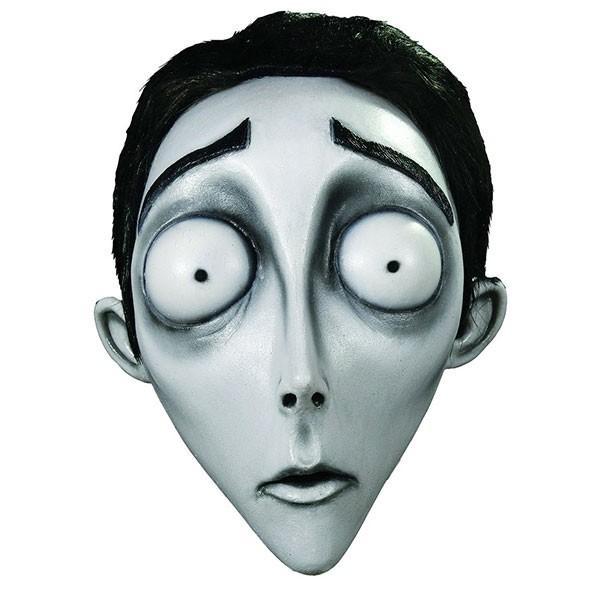 ホラーマスク コープスブライド ビクター 大人用 仮面 ティム・バートン 恐怖 肝試し お化け コスプレ 衣装