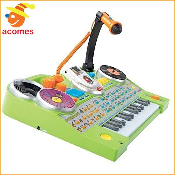 子供 楽器 スタジオ ミュージシャン ミキシング 音楽 プレーヤー DJ おもちゃ ギフト プレゼント