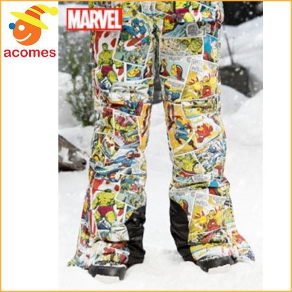 スノボ スキー ズボン スノーパンツ 子供用 アメコミ マーベル コミックス デザイン 雪 誕生日 ホワイトデー ギフト プレゼント