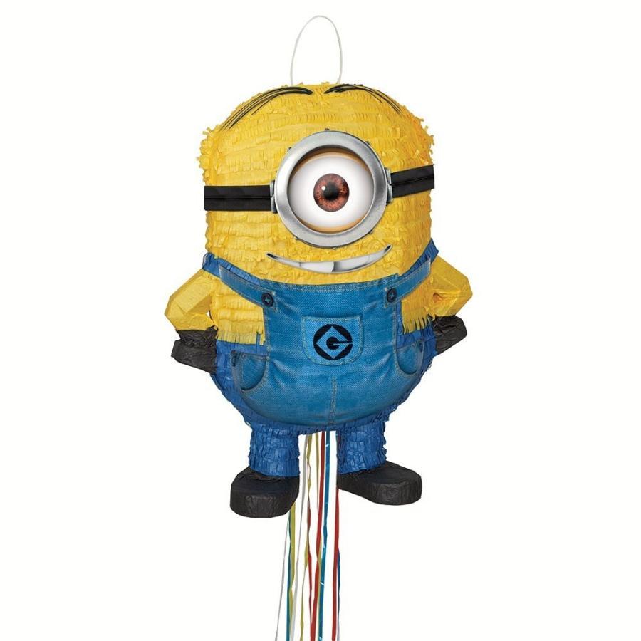 ミニオン ピニャータ 風船 くす玉 スチュワート 誕生日 パーティ お祝い 装飾 飾り デコレーション インテリア グッズ