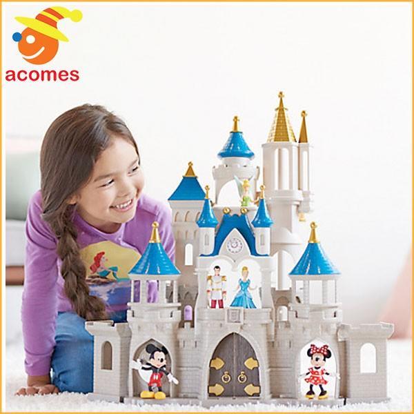 クリスマスプレゼント 子供 ディズニー シンデレラ 城 プレイ セット 子供 おもちゃ 人形 ギフト プレゼント