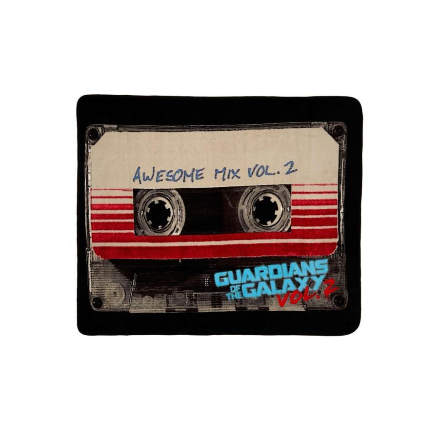 ガーディアンズ ガーディアンズ オブ ギャラクシー グッズ 毛布 ブランケット ひざ掛け カセットテープ マーベル