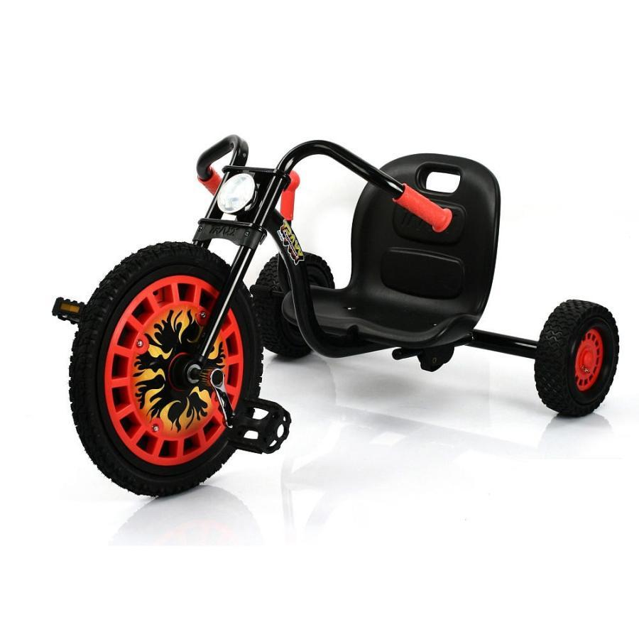 Hauck 三輪車 Traxx Typhoon 子供 海外 おもちゃ ローライダー  かっこいい 乗り物 玩具