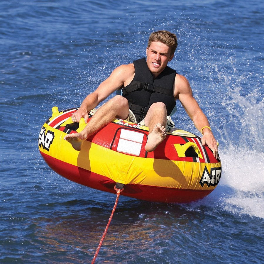 AIRHEAD トーイングチューブ Blast 1人乗り ジェットスキー マリンスポーツ 海 おもちゃ ボート フロート グッズ
