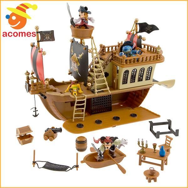 カリブの海賊 グッズ ミッキー マウス 海賊船 デラックス プレイ セット ディズニー 子供 おもちゃ ギフト プレゼント