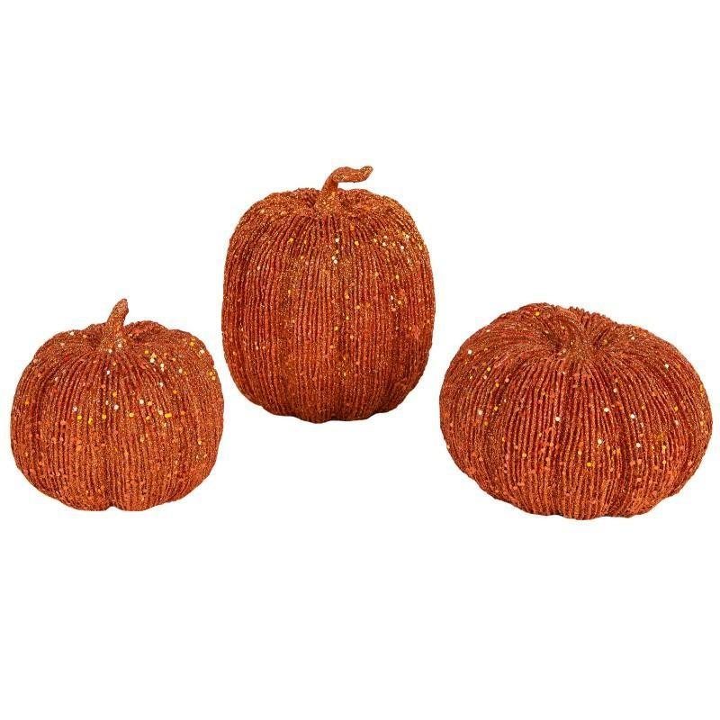 かぼちゃ 置き物 セット 3個 ハロウィン デコレーション 装飾 飾り インテリア 用品