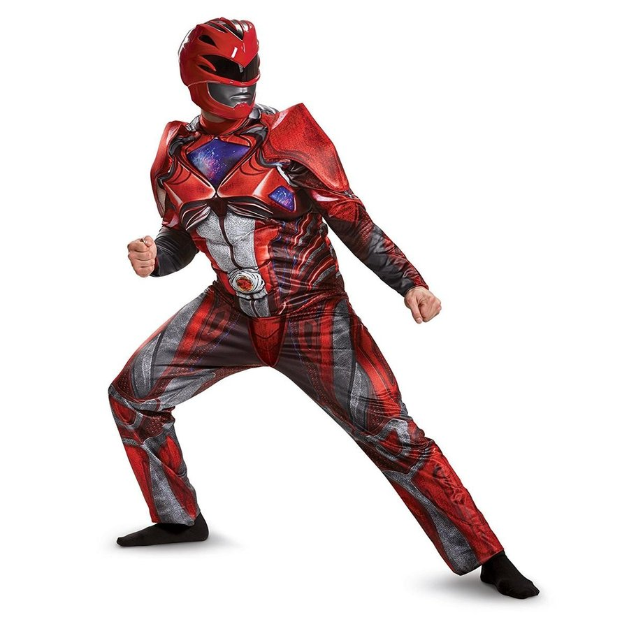パワーレンジャー レッドレンジャー スーツ 衣装 コスチューム メンズ 戦隊 ヒーロー コスプレ 仮装