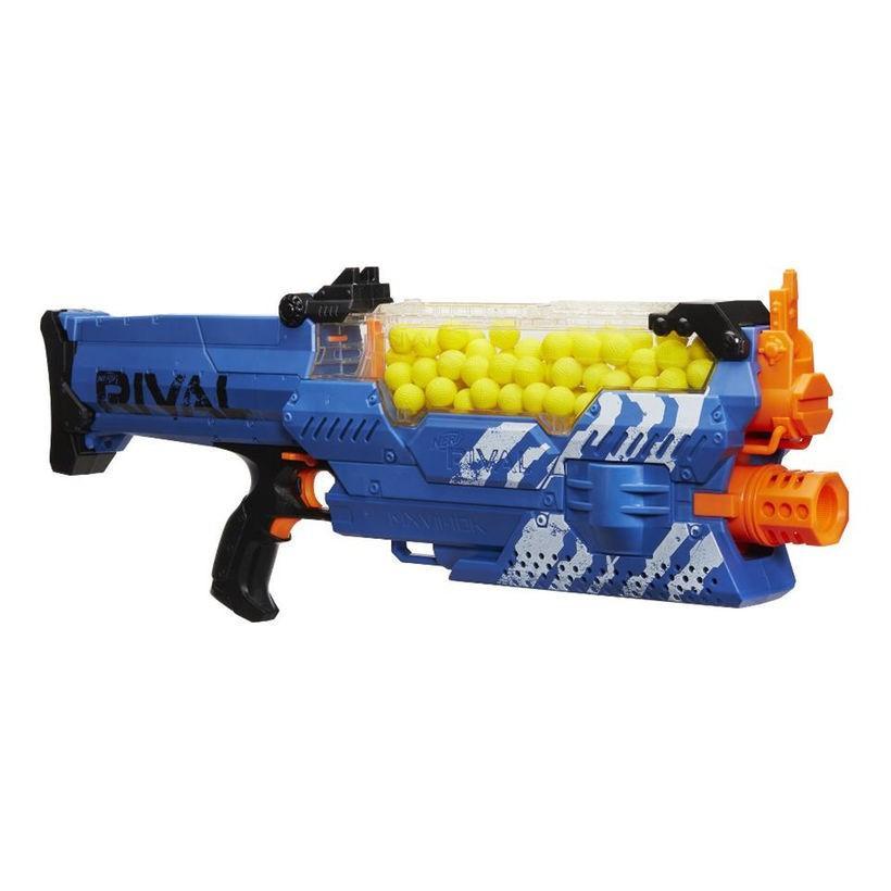 ナーフ NERF Rival Nemesis MXVII-10K Blaster 青 サバゲー 銃 おもちゃ