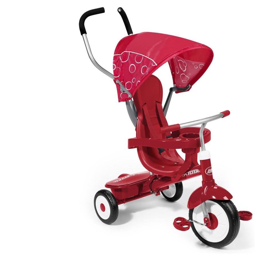 三輪車 赤 年齢別 4タイプ Radio Flyer 海外 おもちゃ