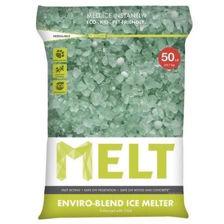 凍結防止剤 融雪剤 MELT EB 25LB 除雪 雪かき グッズ