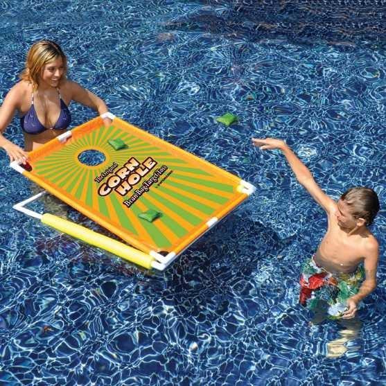 プール おもちゃ 穴入れ コーンホール 海外 グッズ インスタ