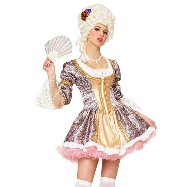 マリーアントワネット 大人用 コスチューム コスプレ レディース 貴族 中世 ヨーロッパ クイーン 王妃 演劇 舞台 仮装 変装