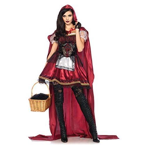 赤ずきん コスプレ仮装 ハロウィン 衣装 コスチューム 女性用 ドレス ケープ Halloween パーティー 文化祭 学園祭 忘年会 新年会