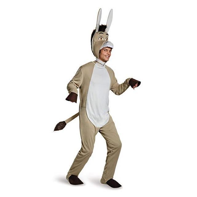 ドンキー 着ぐるみ コスチューム シュレック ハロウィン 仮装 イベント 衣装 パーティー メンズ 大人