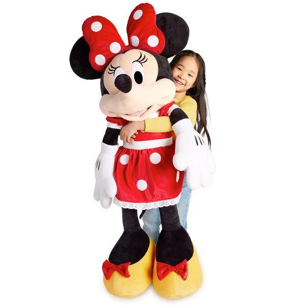 クリスマスプレゼント 子供 ミニー マウス ジャンボ ぬいぐるみ ディズニー クリスマス プレゼント 誕生日 ギフト 巨大 びっくり 大きい 人形