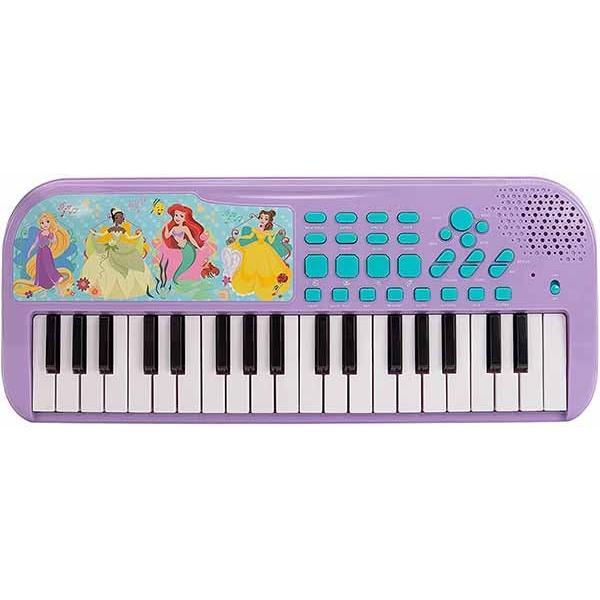 子供用 キーボード ピアノ おもちゃ ディズニープリンセス アナ雪 タートルズ 電子楽器 音楽 ミュージックトイ