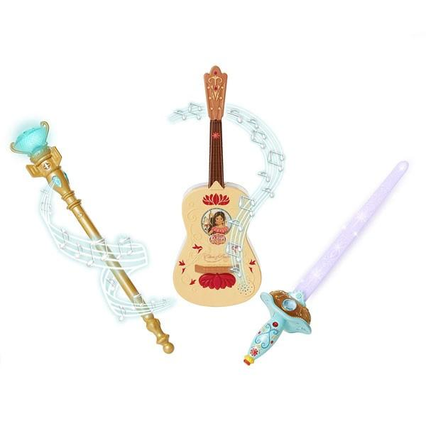 アバローのプリンセス エレナ トリプルパワーパック ギター 光の杖 ソード おもちゃ ディズニー