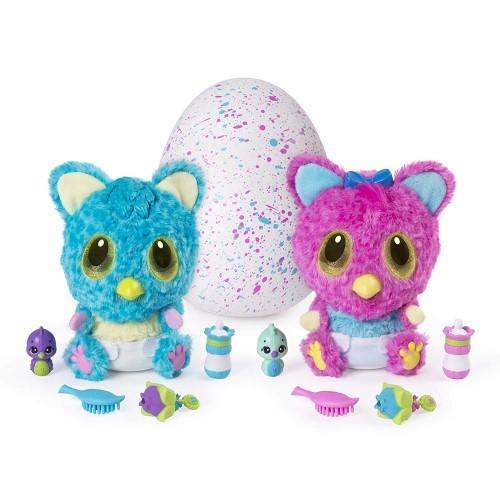 うまれて! ウーモ ベイビー チートゥリー 海外版 Hatchimals おもちゃ 孵化する 動物 ぬいぐるみ ペット うまれて! ウーモ ナゾたま
