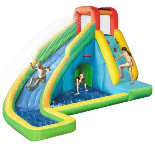 大型 遊具 スプラッシュ アンド プレイ ウォーター スライダー 家庭 水遊び