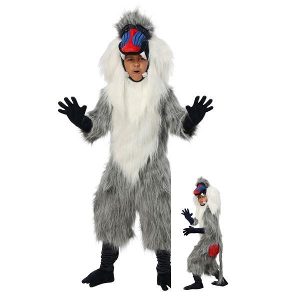 ヒヒ 衣装 着ぐるみ 子供 コスチューム ハロウィン 動物 コスプレ