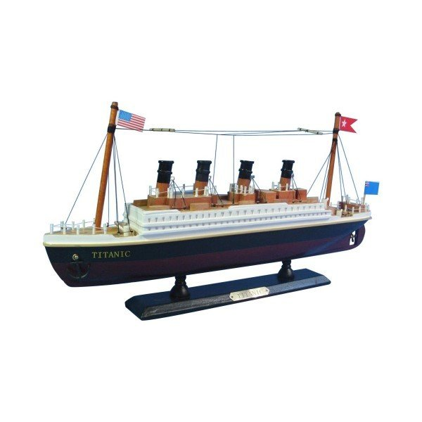 タイタニック 模型 RMS タイタニック号 クルーズシップ ハンプトン ノーティカル 35.5cm