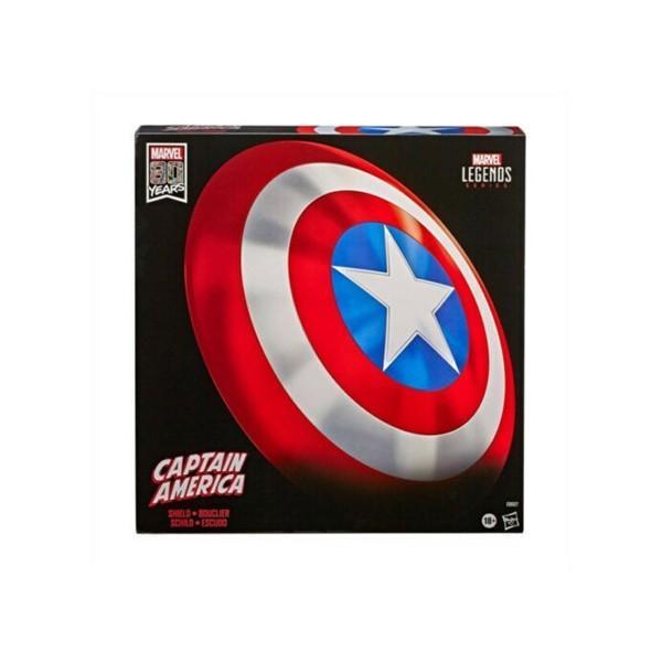 キャプテン アメリカ シールド 61cm マーベルコミックス 創立80周年 限定版 マーベルレジェンド フルスケール