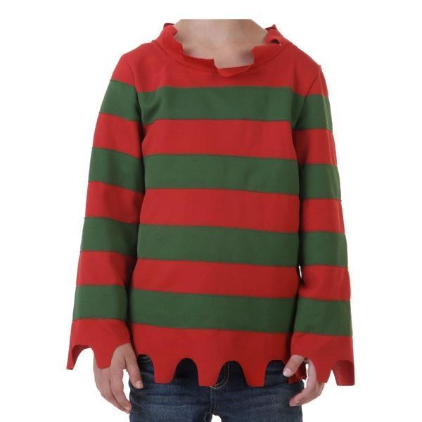 エルム街の悪夢 コスチューム 子供 シャツ ハロウィン コスプレ 衣装