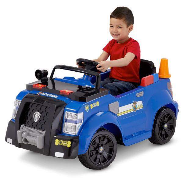 おもちゃ 電動 乗用 自動車 パウ パトロール チェイス パトカー ポリス クルーザー ニコロデオン 子供 乗用玩具(バッテリー無し)