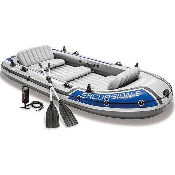 インテックス ボート エクスカーション インフレータブルボート シリーズ 5人乗り 海外 acomes