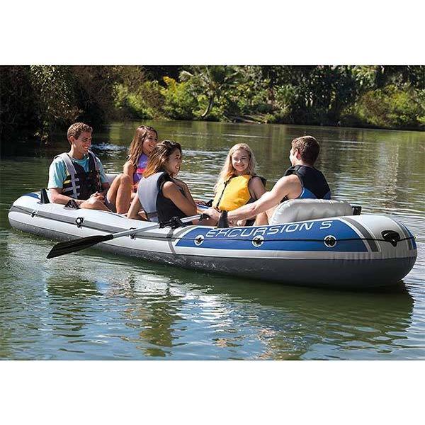 インテックス ボート エクスカーション インフレータブルボート シリーズ 5人乗り 海外 acomes 03