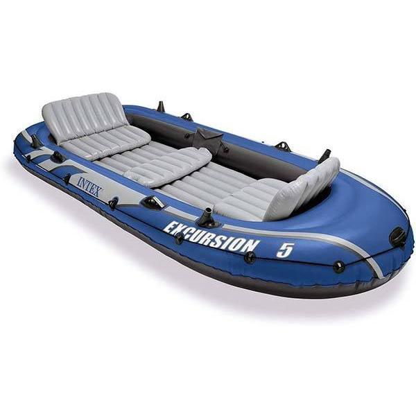 インテックス ボート エクスカーション インフレータブルボート セット 5人乗り 海外|acomes