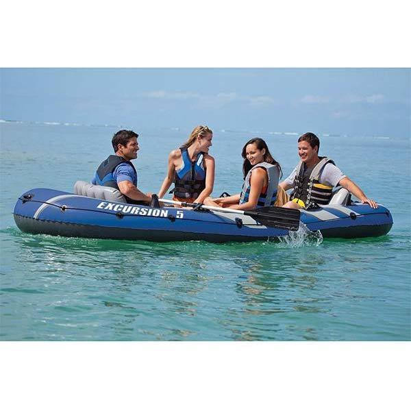 インテックス ボート エクスカーション インフレータブルボート セット 5人乗り 海外|acomes|03