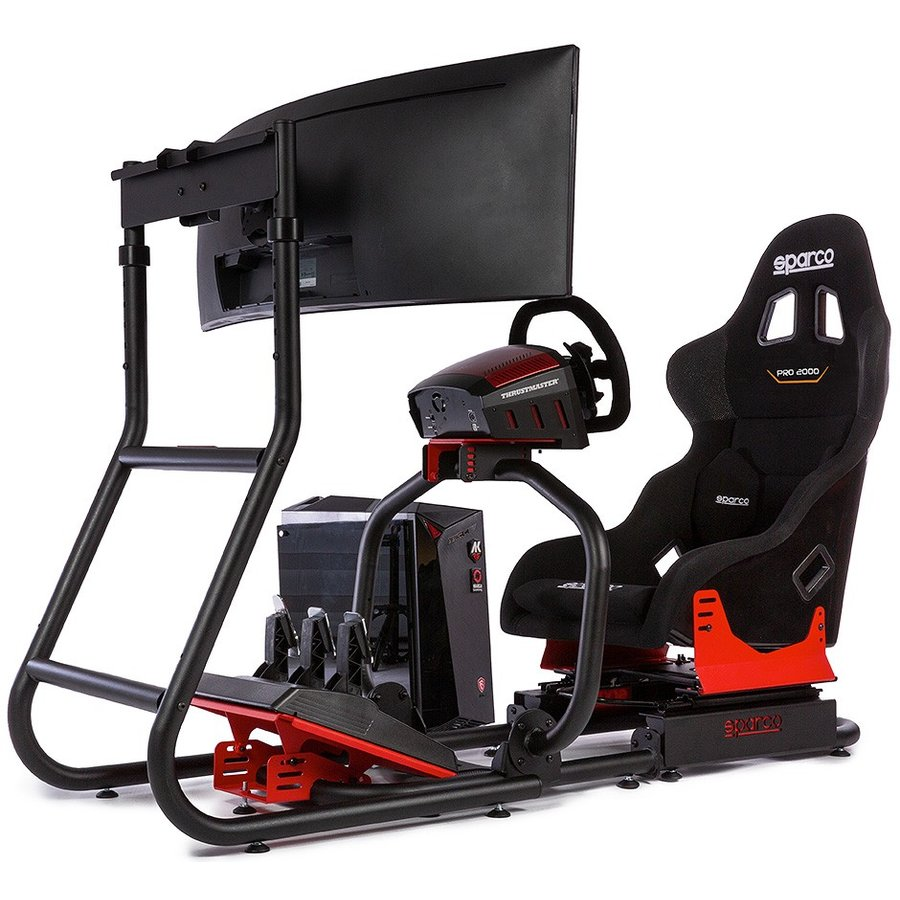 SPARCO GAMING SIM RIG IIフルキット