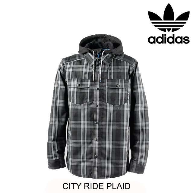 2014 ADIDAS アディダス CITY RIDE PLAID TECH グレー/DARK SHALE/黒