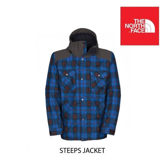 2014 THE NORTH FACE ザ ノースフェイス ジャケット STEEPS JACKET NAUTICAL BLUE