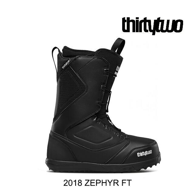 2018 THIRTYTWO 32 サーティーツー スノーボード ブーツ SNOW BOOT ZEPHYR FT 黒
