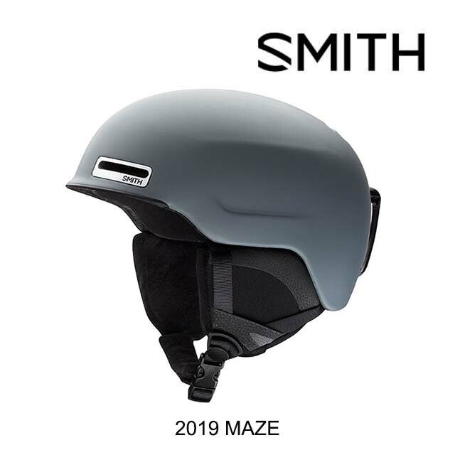 2019 SMITH スミス ヘルメット HELMET MAZE MATTE CHARCOAL