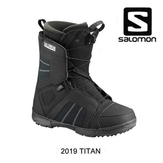 2019 SALOMON サロモン スノーブーツ SNOW BOOT TITAN 黒