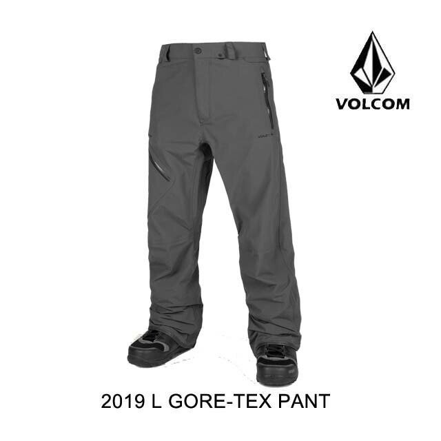 非常に高い品質 2019 VOLCOM L ボルコム パンツ L GORE-TEX PANT BLACK PANT VINTAGE BLACK, 稲川町:e71a6448 --- airmodconsu.dominiotemporario.com
