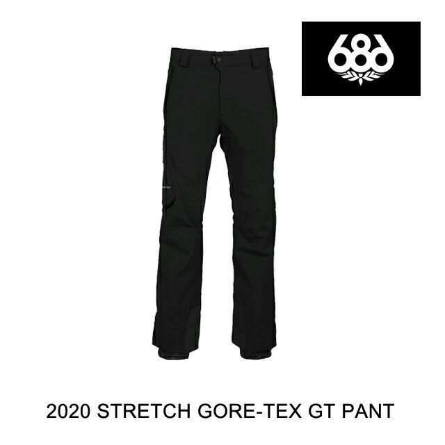 【最安値に挑戦】 2020 686 2020 シックスエイトシックス 686 パンツ BLACK STRETCH GORE-TEX GT PANT BLACK, おもしろ通販情報局NET-JTC:efa3ed1b --- airmodconsu.dominiotemporario.com