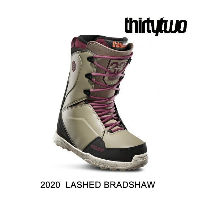 2020 THIRTYTWO 32 サーティーツー スノーボード ブーツ SNOW BOOT LASHED BRADSHAW OLIVE/黒
