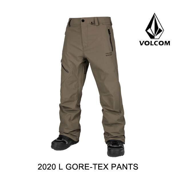 現品限り一斉値下げ! 2020 VOLCOM ボルコム パンツ L GORE-TEX PANT TEAK, 郵送検査キットセンター bc0521c4